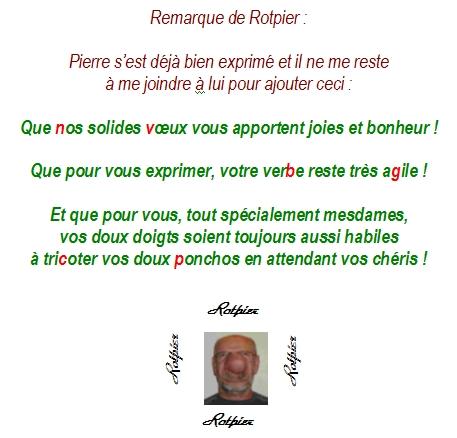 Les Voeux De Nouvel An De Pierre Et De Rotpier Le Blog
