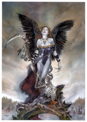 Femme orne