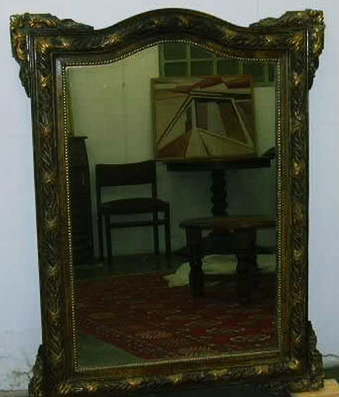 la dame et le vieux miroir un po me tr s ancien de. Black Bedroom Furniture Sets. Home Design Ideas