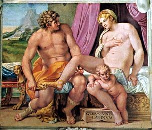 Anchise et Vénus