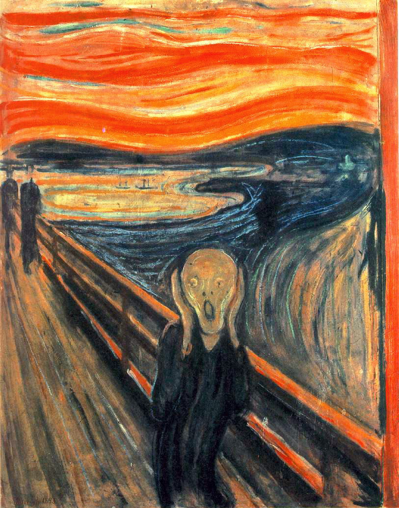 Le cri Evard Munch