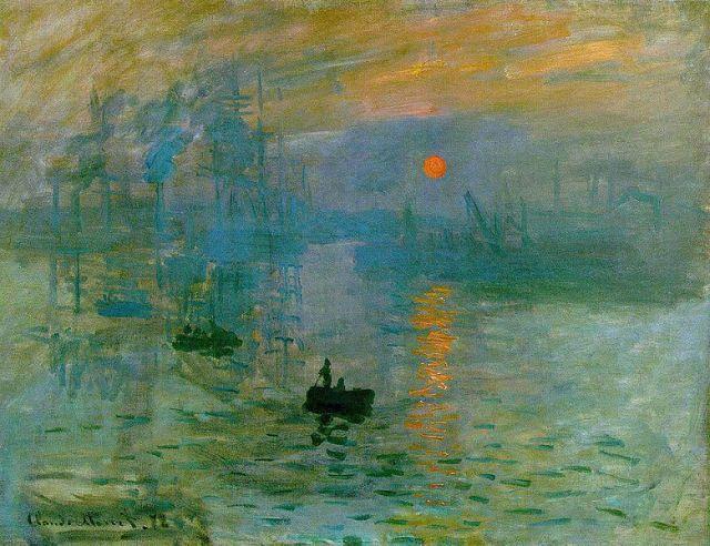 Impression soleil levant Claude Monet