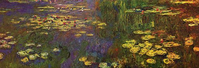 Les nymphéas de Claude Monet