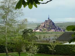 Mont St Michel dans les terres