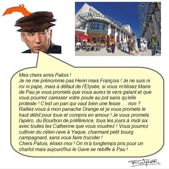 L'actualité vue par le Rotpier Bayrou à Pau