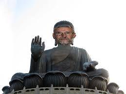 Rotpier en bouddha