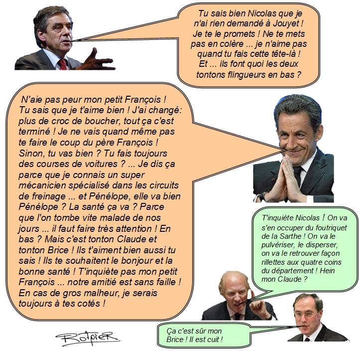 l'actualité vue par le Rotpier affaire Fillon-jouyet