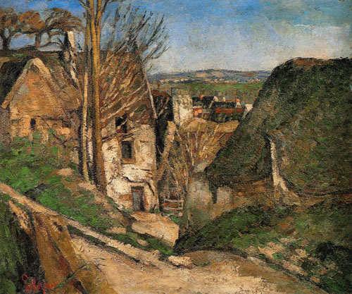 La maison du pendu Paul Cézanne