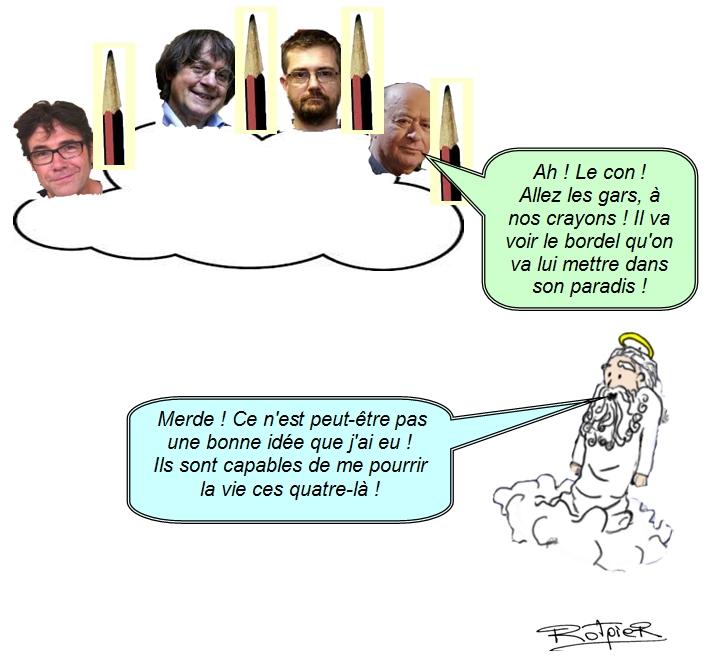 L'actualité vue par Rotpier Charlie Hebdo 2