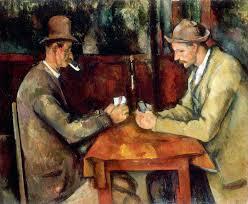 Les joueur de cartes de Cézanne