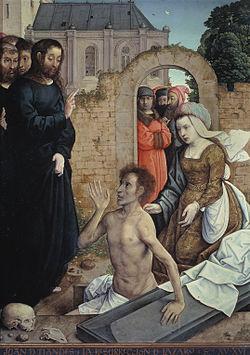 Lazare sortant du tombeau