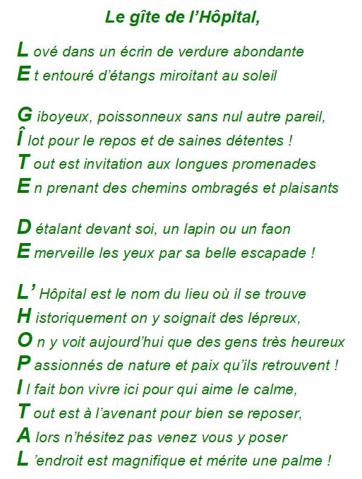 """Gut gemocht Le poème du jour, souvenir de vacances dans la Somme : """" Le gîte  RL95"""
