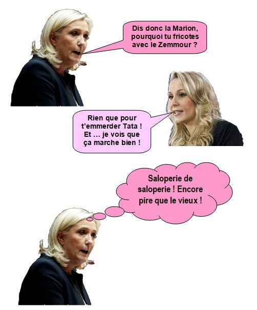 Marine Le Pen et Marion Maréchal