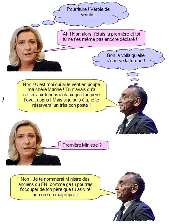 Marine le Pen Zemmour (2)