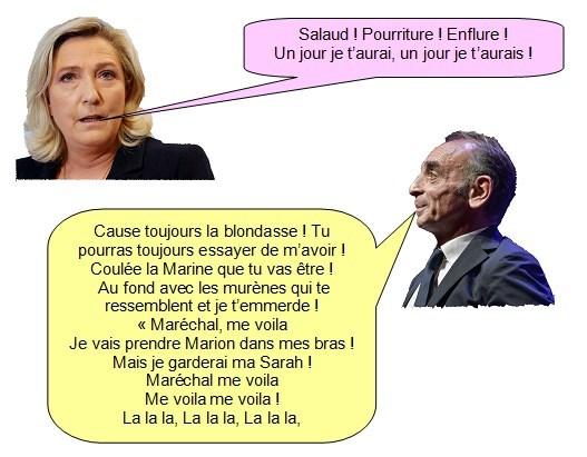 Marine le Pen Zemmour (3)