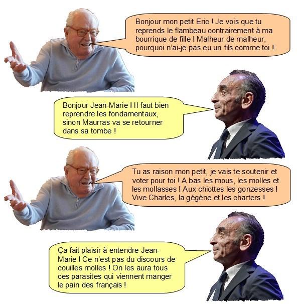 Zemmour Le Pen (1)